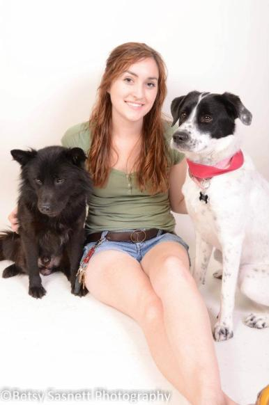 Link, Lana, and Fur-Mom Kayla - Image by Betsy Sasnett Photography