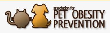 Association for Pet Obesity Prevention Banner